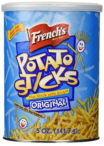 French's, Potato Sticks, Original, 5oz Canister (Pack of 3)