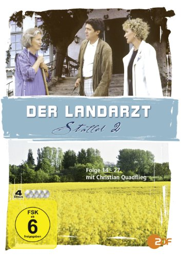 Der Landarzt - Staffel 2 (Jumbo Amaray - 4 DVDs)
