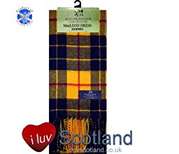 MacLeod (Dress) Tartan Lambswool Scarf