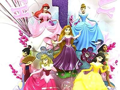 Disney Princess Birthday Cake Topper or Centerpiece