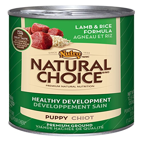 Natural Choice Dog Puppy Lamb And Rice Formula Puppy Food Cans, 12-1/2-Ounce, 12 Pack Cans