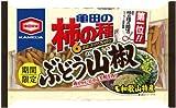 亀田製菓 亀田の柿の種ぶどう山椒6袋詰 192g×6袋