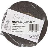 "3M Safety-Walk Anti Slip Tape, General Purpose BLACK, 1"" x 60'"