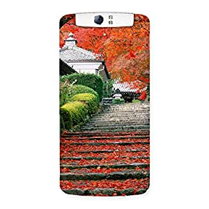 Stairs Garden Back Case Cover for Oppo N1