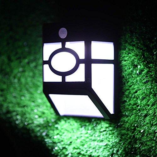 Solar Panel PIR Motion&Light Sensor LED Light Garden Pathway Wall Lamp Outdoor (Motion Kettle compare prices)