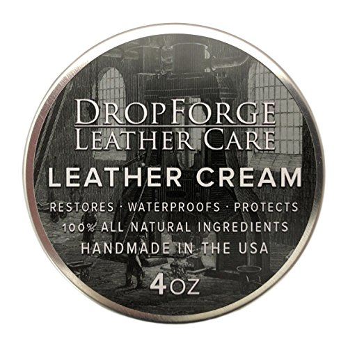 DropForge Leather Cream // All Natural & Handmade in the USA (Leather Conditioner Natural compare prices)