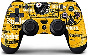 NFL - Pittsburgh Steelers - Blast Skin for PlayStation 4 / PS4 DualShock4 Controller by Skinit