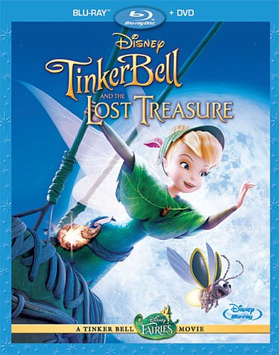 Cover art for  Tinker Bell and the Lost Treasure (Two-Disc Blu-ray/ DVD Combo)