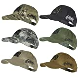 Voodoo Tactical 20-9353 Contractor Baseball Cap w/ Sewn on Flag