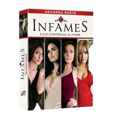 INFAMES: SEGUNDA PARTE (IMPORT FROM MEXICO 6 DVDS) REGION 1 Y 4 No English options