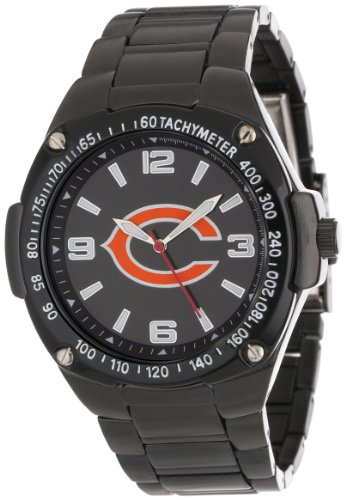 Game Time Unisex Nfl-War-Chi Warrior Chicago Bears Analog 3-Hand Watch front-803154