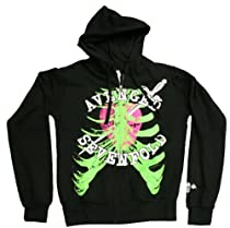 Avenged Sevenfold - Heart Attack Juniors / Girls Zip-Up Hoodie - Ships in '24' Hours!, Size: X-Large
