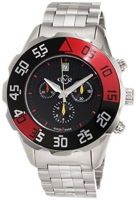 GV2 by Gevril Men's 3003B Parachute Chronograph Bracelet Date Watch