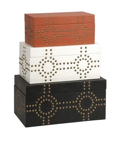 Set of 3 Jordan Studded Boxes