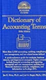 Dictionary of Accounting Terms (Barrons Dictionary of Accounting Terms)