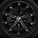 Original BMW Alufelge 5er F10-F11-LCI Sternspeiche 365 schwarz in 18
