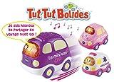 Vtech - 205755 - Jouet de Premier Age - Tut Tut Bolides - Coffret Trio Rose - Citadine + Ambulance + Van