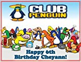 """Single Source Party Supply - Club Penguin Edible Icing Image #1-8.0"""" x 10.5"""""""