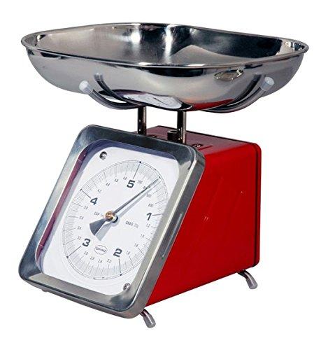 Cabanaz balance analogique rouge de 5 kg maximum (red 1201400 scarlet)