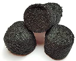 Sugared Marshmallows Black 1 Pounds 50 Pieces
