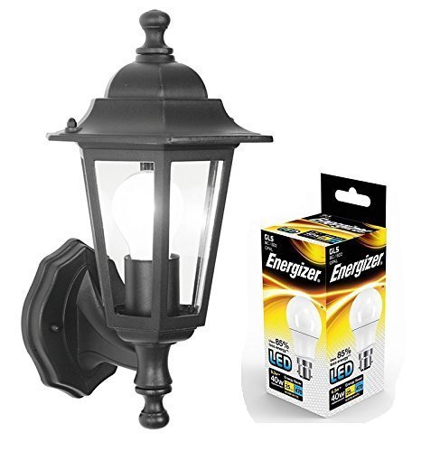 led-outdoor-wall-lantern-outside-light-security-black-6-sided-exterior-lamp