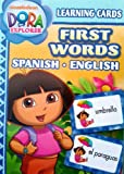 Dora Spanish English First Words Learning Flash Cards $9.99