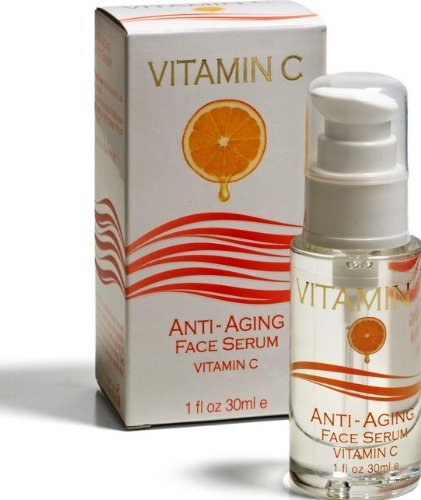 Anti Aging Face Serum Vitamin C With The Advanced Formula Spa Cosmetics By Queen Of Sheba 1 Fl Oz 30Ml