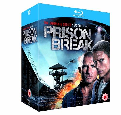 Prison Break: Complete Season 1-4 [Blu-ray]