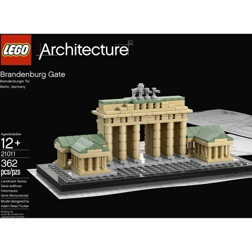 LEGO® Architecture Brandenburg Gate 21011 Amazon.com