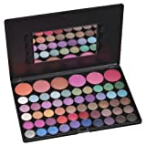 Coastal Scents 56 Piece Blush & Eye Shadow Palette