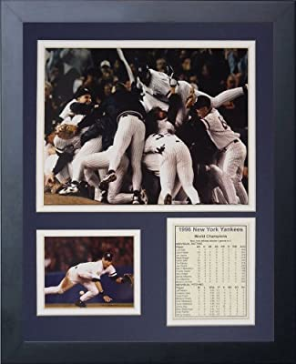 Legends Never Die 1996 New York Yankees Framed Photo Collage, 11x14-Inch