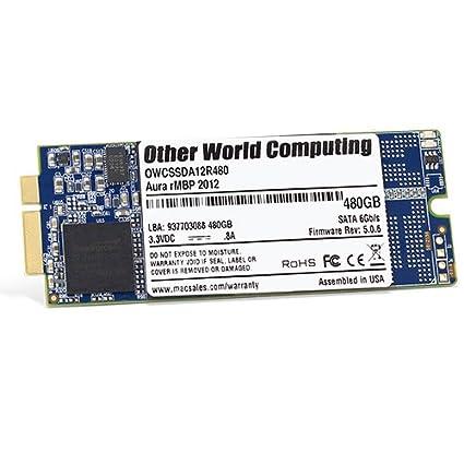 OWC Aura (OWCSSDA12R480) 480GB 6G Internal SSD (for MacBook Pro)