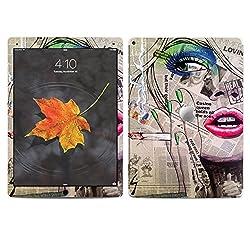 Theskinmantra Newspaper Women SKIN/STICKER/VINYL for Apple Ipad Pro Tablet 9 inch