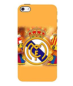 printtech FC Football Team Back Case Cover for Apple iPhone 4::Apple iPhone 4S