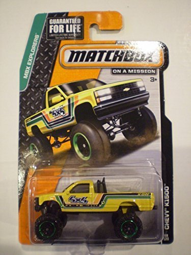 Matchbox MBX Explorers - Chevy K1500 4X4 Pickup Truck 88/120 - 1