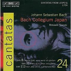 Allein zu dir, Herr Jesu Christ, BWV 33: Recitative: Mein Gott und Richter (Bass)
