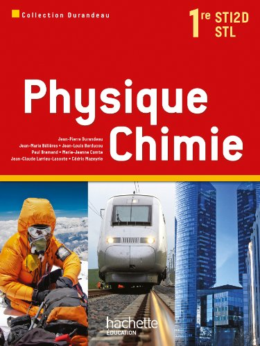 Physique chimie, 1re STI2D-STL
