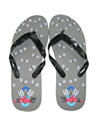 Marc Gold-Boys Flip Flop Medium - Racecar
