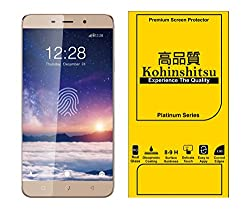 Kohinshitsu Platinum Series Premium 0.26mm Temepered Glass Screen Guard for Coolpad Note 3 Lite Mobile Phone 2016 Model with Oleophobic Coating / 9H Hardness / 2.5D Curved Edges.