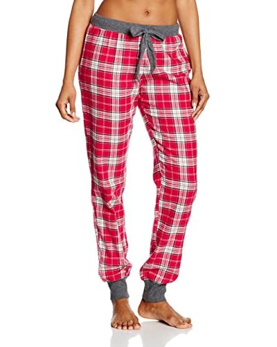 ESPRIT Pantalón de Pijama Rojo