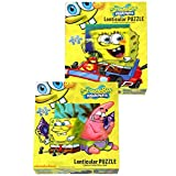 Spongebob Lenticular Puzzle (1) Party Ac...