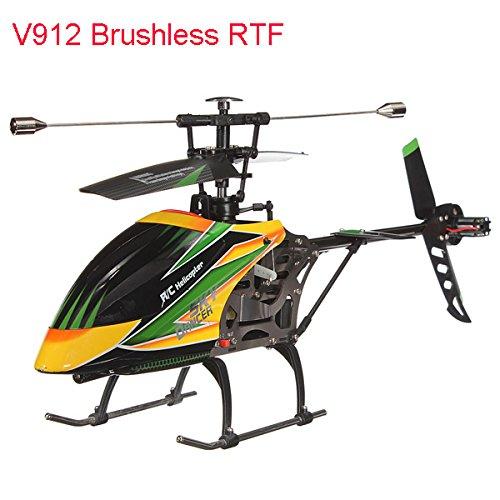 WLtoys V912 4CH Brushless RC Helicopter With Gyro RTF (Marvel Classic Hulk Costume Kit)