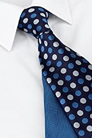 2 Pack Machine Washable Spotted Ties