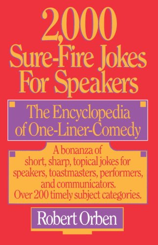 2,000 Sure-Fire Jokes for Speakers