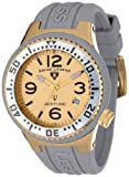 Swiss Legend Women's 11044P-YG-014 Neptune Gold Tone Dial Grey Silicone Watch
