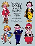 img - for By Grace G. Drayton Adventures of Dolly Dingle Paper Dolls: 16 Antique Plates in Full Color [Paperback] book / textbook / text book