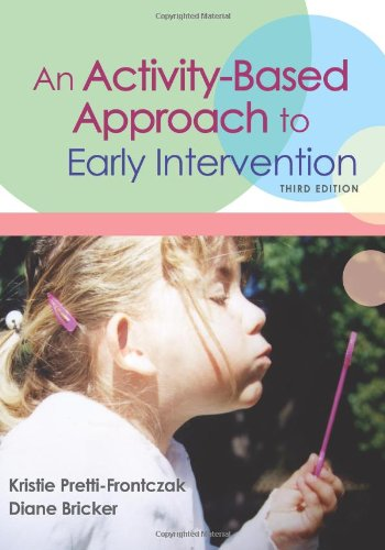 An Activity-Based Approach to Early Intervention, Third...