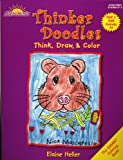 Thinker Doodles, Half 'n-Half Animals Book A1: Think, Draw, & Color Grades K-1