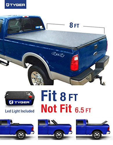 Tyger Auto TG-BC3F1025 Tri-Fold Pickup Tonneau Cover (Fits 1999-2016 Ford F-250/F-350 Super Duty 8 feet (96 inch) Tri-Fold Truck Cargo Bed Tonneau Cover (NOT (For Stepside)) (2004 F250 Tonneau Cover compare prices)