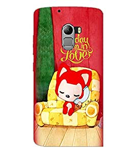 PrintDhaba Love D-4525 Back Case Cover for LENOVO K4 NOTE A7010a48 (Multi-Coloured)